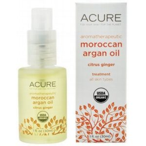 Argan Oil - Aromatherapeutic Citrus Ginger 30ml