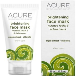 Acure Brightening Face Mask Argan Extract + Chlorella 50ml