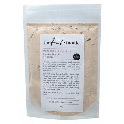 THE FIT FOODIE Protein Ball Mix Cookie Dough 185g