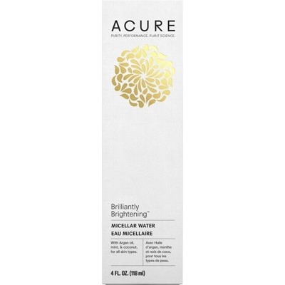 Acure Brilliantly Brightening Micelllar Water 118ml