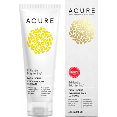 ACURE Brilliantly Brightening Facial Scrub - 118ml