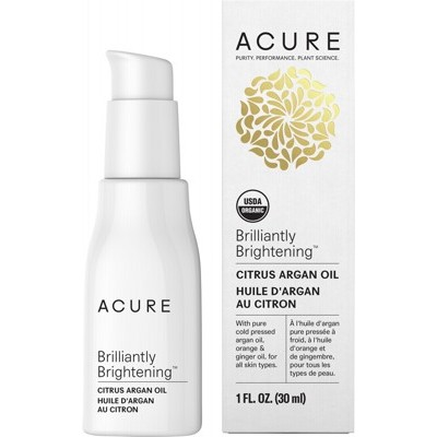 ACURE Brilliantly Brightening Citrus Argan Oil - 30ml