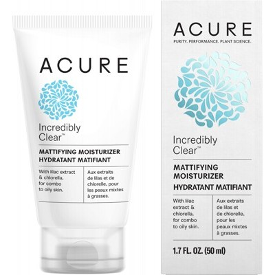 ACURE Incredibly Clear Mattifying Moisturizer - 50ml