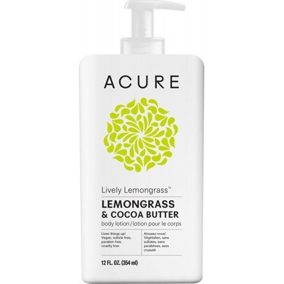 Acure Lively Lemongrass Body Lotion 354ml