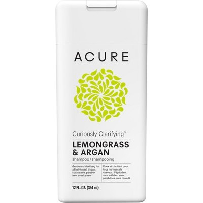 ACURE Curiously Clarifying Shampoo - Lemongrass and Argan 354ml