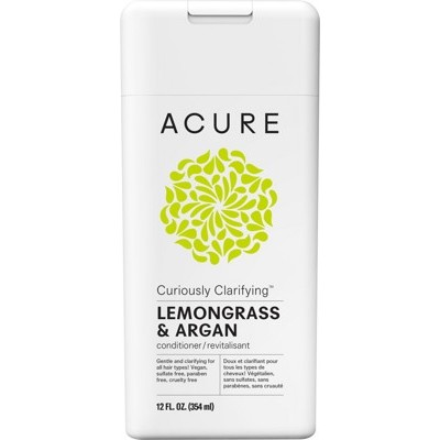 ACURE Curiously Clarifying Conditioner - Lemongrass and Argan 354ml